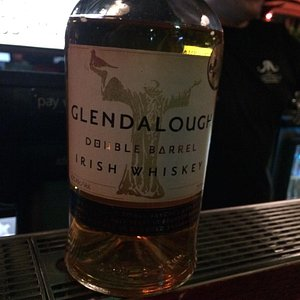 Craft irish whiskey recommended by owner