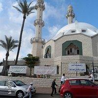 The moske in Haifa