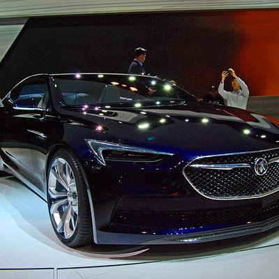 The beautiful Avista Concept from Buick.