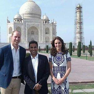 Tour to Royal couple.....
