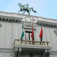 Fachada del Ayuntamiento (detalle)