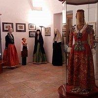 Stanza degli abiti tradizionali