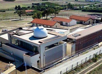 Vista aerea dell'Osservatorio  - Credits G. Alvito