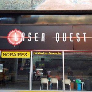 Devanture Laser Quest de Cergy
