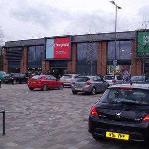 General View of Kirkstall Bridge Shopping Park