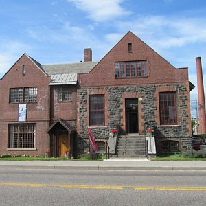 The Saranac Laboratory Museum, built in 1894 as the first commercial laboratory for the study of