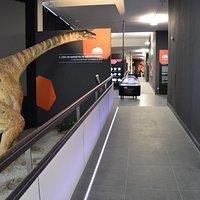 Reconstrucción de titanosaurio