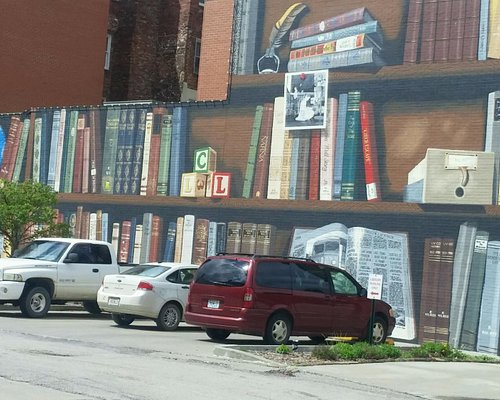 Mural, one of many.