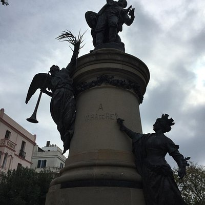 Estatua Vara De Rey