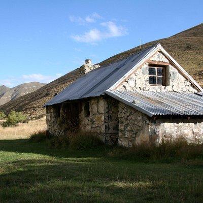 The historic Sutherland's Hut
