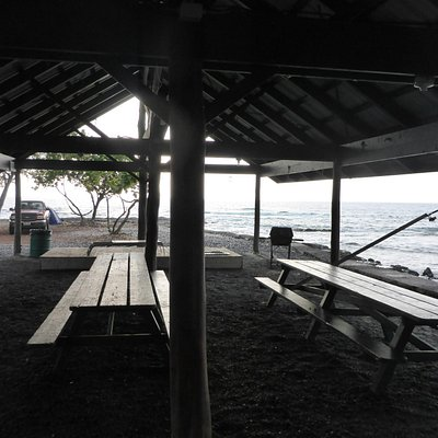 Shelter and camping area