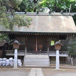 上野毛稲荷神社/旧上野毛村の鎮守さまです