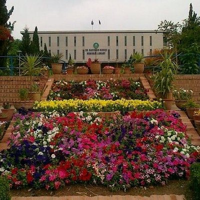 Beautiful view of QAU