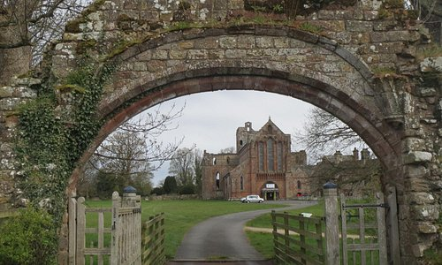 St Mary Magdalene Church from the Priory Gatehouse