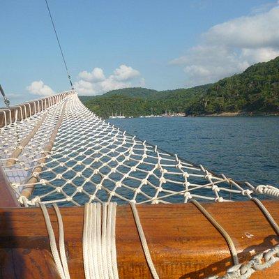 Ilha Grande desde el barco