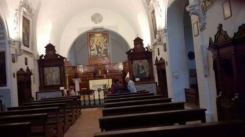 Chiesa San Martino a Trevi (Altare Maggiore e 2 affreschi di Pier Antonio Mezastris )
