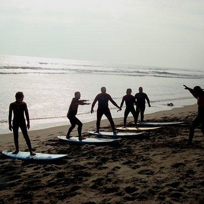 surf lessons every day with the best surf conditions