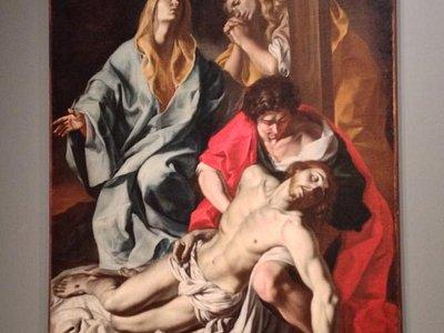 La Pietà - episodio Biblico, di Angelo Solimena.