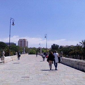 Puente del Mar, Valencia, España.
