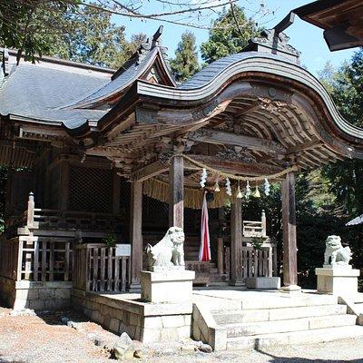 日置神社本殿