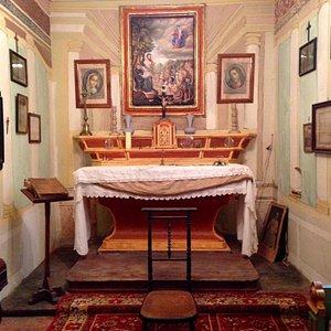 Chapelle à l'intérieur de la maison