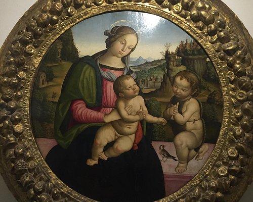 Madonna col cardellino attribuita alla scuola di Raffaello