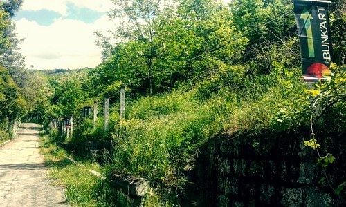 Sentiero per il bunker
