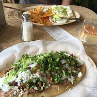 This was not your run of the mill chain Mexican restaurant. We ordered huaraches de Assad, tacos