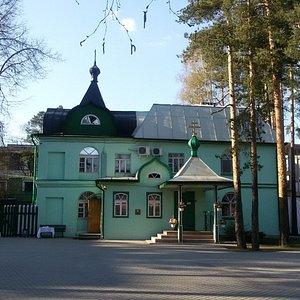 Старинная Свято-Троицкая церковь в Рябово