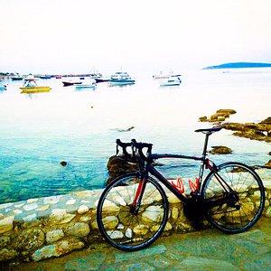 Cycling at Alyki
