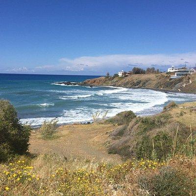 Tpoulorotos beach area april 2016