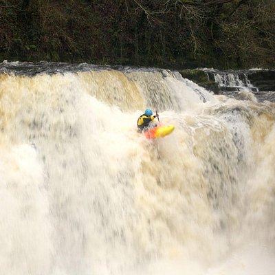 Kayaking in South Wales