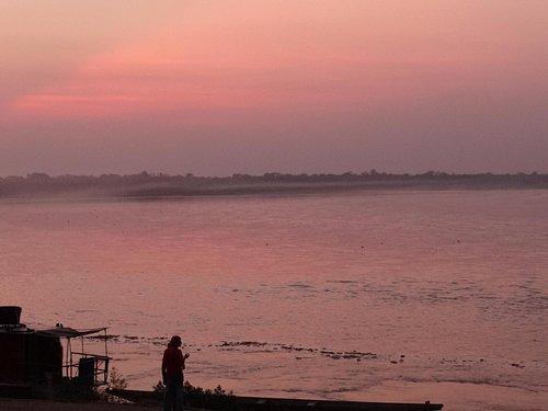 Vista desde el Mirador del río Guaviare