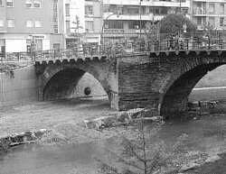 Antes y después del puente.