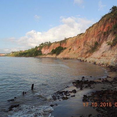 Praia da Areia preta.