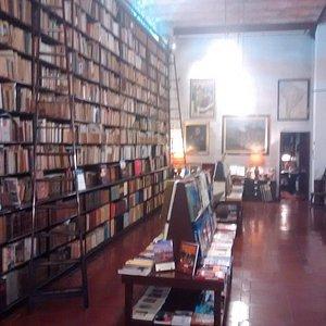 Salão da livraria