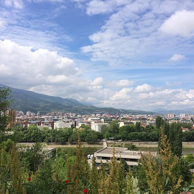 The view of Skopje