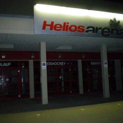 Ehemaliger Haupteingang des Bauchenberg Stadions (Helios Arena)