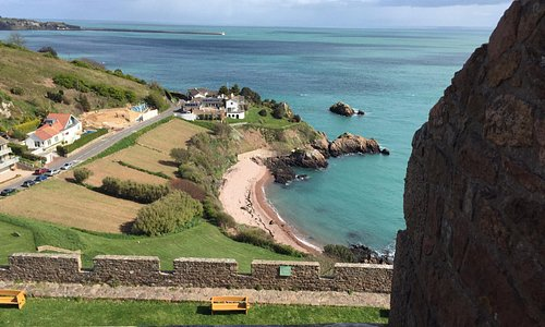 Veiw from the top of Mont Orgueil