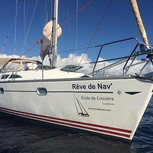 L'inko, voilier de Rêve de Nav'