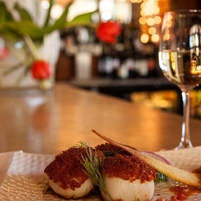 A tasty food & wine pairing!