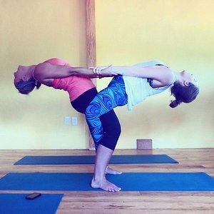Acro yoga session