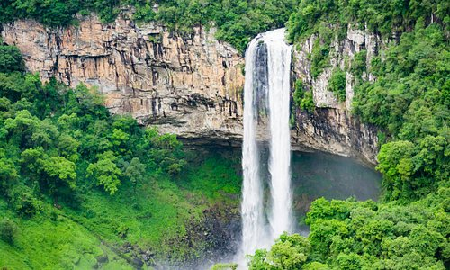 cascata vista do bondinho