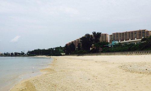 綺麗なビーチです。