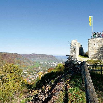 Hiltenburg auf dem Schlossberg in Bad Ditzenbach