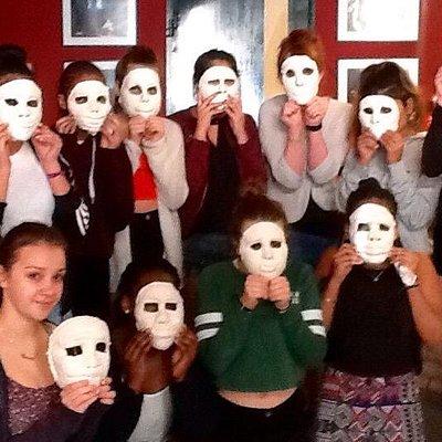 Ancient Pathos performance, The House off the Atreides. Ancient Greek Mask workshop