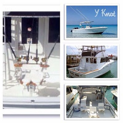 The boats of Hunter Charters