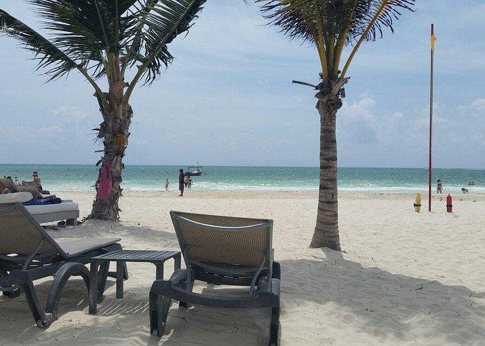 Praia Maravilhosa talvez a melhor  de Cacun