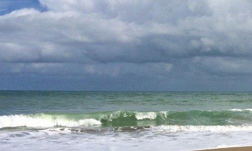 Such a pretty beach day...