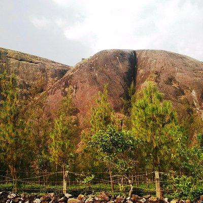 big rock called thangal para